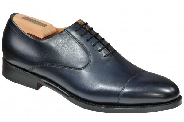 Steinhauer Cap toe in dark Blu Style Matteo