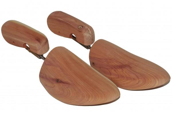 Damen Schraub Schuhspanner Basic Zedernholz