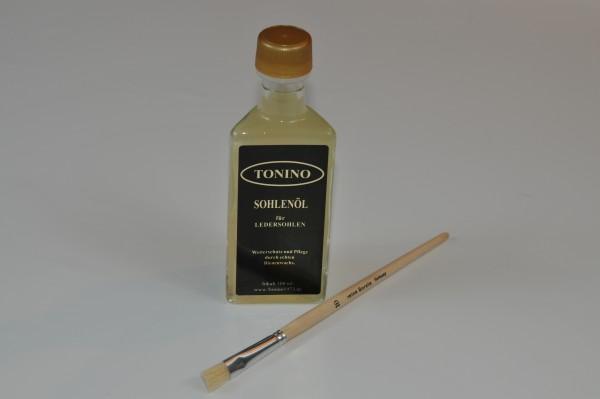100 ml. Flasche Sohlenöl