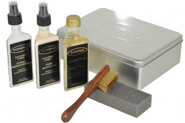 Wildleder / Nubuk reinigungs und pflege Set