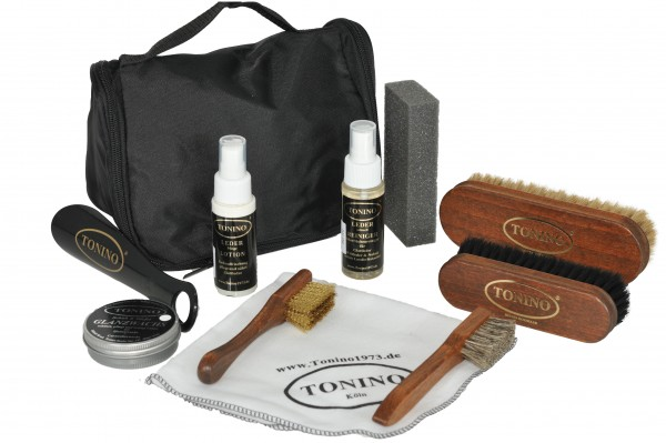 Lether care travel kit