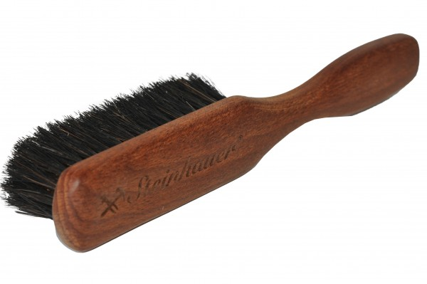 Steinhauer Wildleder Reinigungsbürste mit Bronzehaar