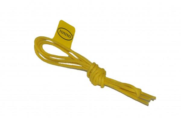 Schnürband Gelb