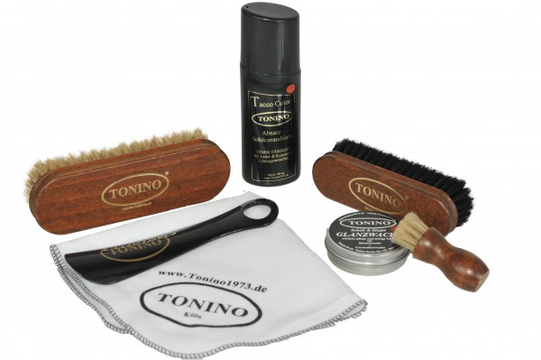 Tonino Custom Schuhputz Set in Farbwahl